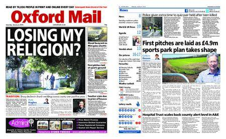 Oxford Mail – January 06, 2018