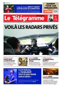 Le Télégramme Brest Abers Iroise – 05 janvier 2020