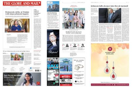 The Globe and Mail – September 25, 2019