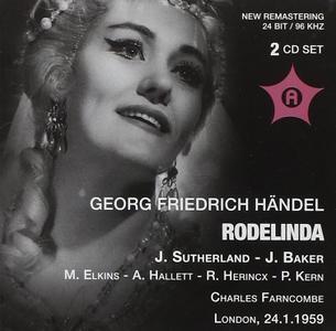 Charles Farncombe, Philomusica Orchestra, Joan Sutherland, Janet Baker - Handel: Rodelinda (2010)