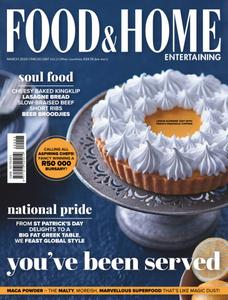 Food & Home Entertaining - March 2020