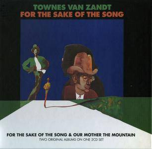 Townes Van Zandt - For The Sake Of The Song (1968) + Our Mother the Mountain (1969) 2CD Set, Remastered 2014