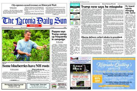 The Laconia Daily Sun – July 18, 2018