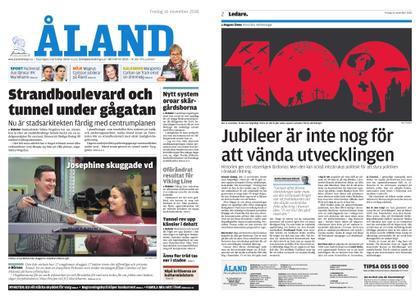 Ålandstidningen – 16 november 2018