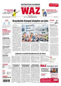 WAZ Westdeutsche Allgemeine Zeitung Oberhausen-Sterkrade - 25. Oktober 2018