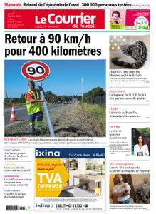Le Courrier de l'Ouest Cholet – 09 juillet 2020
