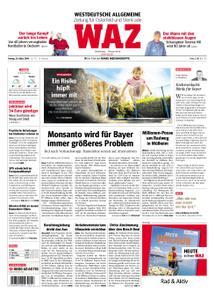 WAZ Westdeutsche Allgemeine Zeitung Oberhausen-Sterkrade - 29. März 2019