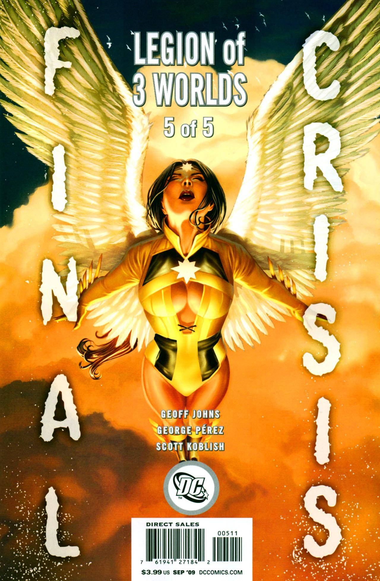 Final Crisis - Legion of 3 Worlds 05 (of 05) (2009) (Both Covers)