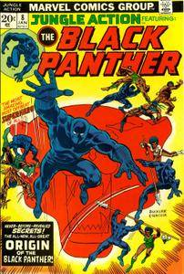 Jungle Action v2 008 1974 featuring Black Panther