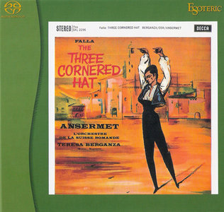 Manuel de Falla: The Three Cornered Hat (1962) [Reissue 2008] PS3 ISO + Hi-Res FLAC