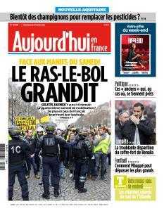 Aujourd'hui en France du Vendredi 15 Février 2019