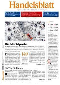 Handelsblatt - 23. August 2016