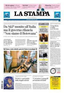 La Stampa Torino Provincia e Canavese - 27 Ottobre 2018