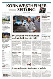 Kornwestheimer Zeitung - 25. Januar 2019