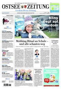 Ostsee Zeitung Wolgast - 11. März 2019