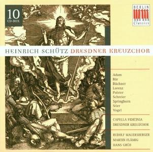 Dresdner Kreuzchor, Rudolf Mauersberger - Heinrich Schütz: Choral Music (2001) (10 CDs Box Set)