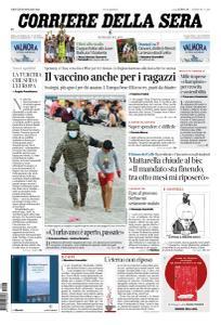 Corriere della Sera - 20 Maggio 2021