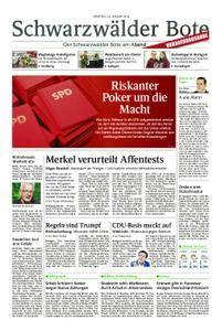 Schwarzwälder Bote Hechingen - 30. Januar 2018