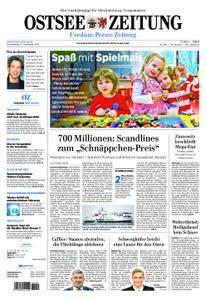 Ostsee Zeitung Wolgast - 21. Dezember 2017
