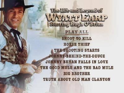 The Life and Legend of Wyatt Earp (1955–1961) [Season 6]