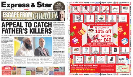 Express and Star Sandwell Edition – December 05, 2019