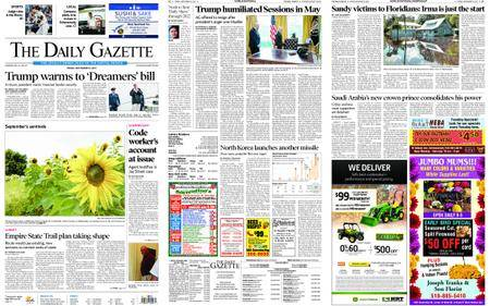The Daily Gazette – September 15, 2017