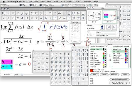 MathMagic Pro Edition for Adobe InDesign 9.3 Build 21 MacOSX