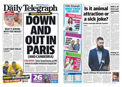 The Daily Telegraph (Sydney) – August 14, 2018