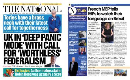 The National (Scotland) – November 23, 2020