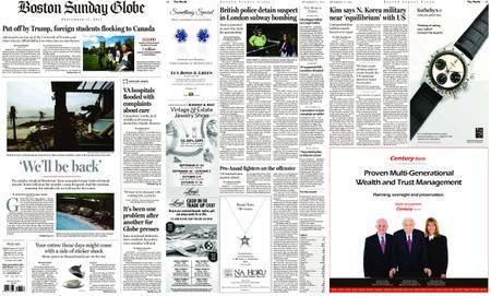 The Boston Globe – September 17, 2017