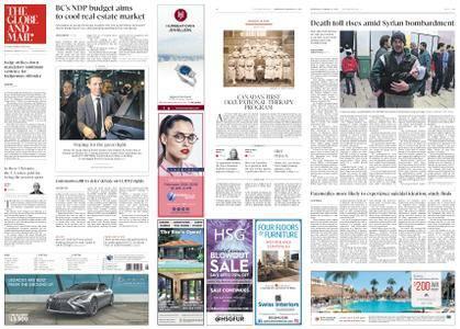 The Globe and Mail – February 21, 2018