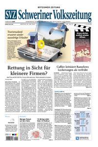 Schweriner Volkszeitung Bützower Zeitung - 25. Mai 2020