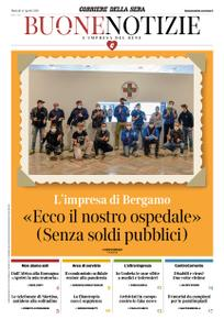 Corriere della Sera Buone Notizie – 14 aprile 2020