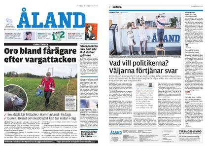 Ålandstidningen – 04 oktober 2019