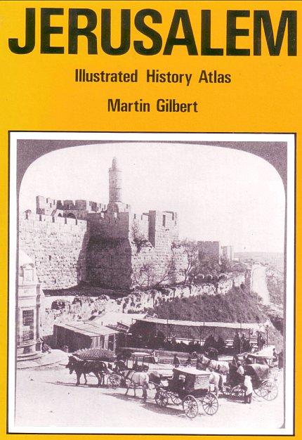 Ebook: Sir Martin Hilbert, Jerusalem Historical Atlas