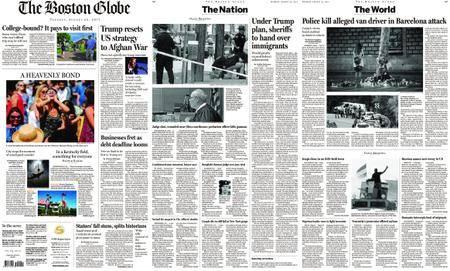 The Boston Globe – August 22, 2017