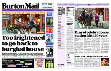 Burton Mail – January 15, 2018