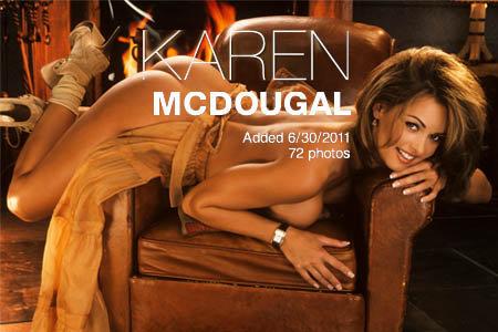 Playmate Refresher - Karen McDougal