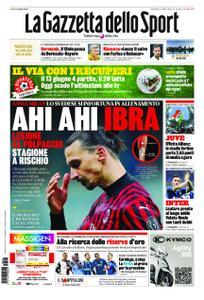 La Gazzetta dello Sport – 26 maggio 2020