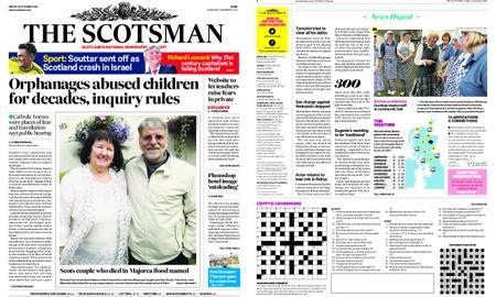 The Scotsman – October 12, 2018