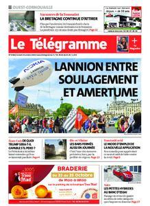 Le Télégramme Ouest Cornouaille – 24 octobre 2020