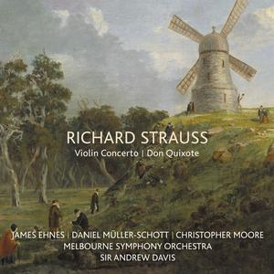 James Ehnes - Richard Strauss: Violin Concerto / Don Quixote (2019)