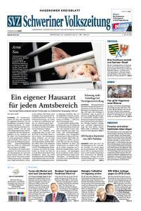 Schweriner Volkszeitung Hagenower Kreisblatt - 27. August 2019