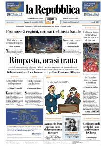 la Repubblica - 28 Novembre 2020