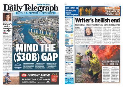 The Daily Telegraph (Sydney) – November 15, 2019