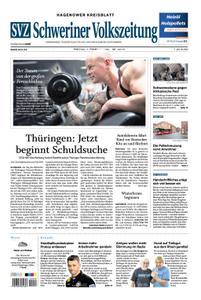 Schweriner Volkszeitung Hagenower Kreisblatt - 07. Februar 2020