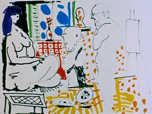 The Mystery of Picasso / Le Mystère Picasso (1956)