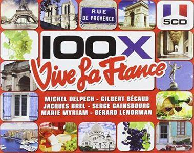 VA - 100x Vive la France (2013)