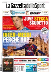 La Gazzetta dello Sport Roma – 24 luglio 2020