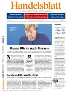 Handelsblatt - 16. Oktober 2018